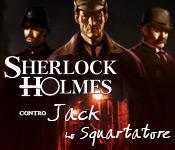Funzione di screenshot del gioco Sherlock Holmes contro Jack Lo Squartatore
