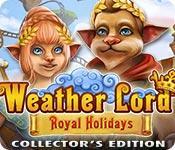 Funzione di screenshot del gioco Weather Lord: Royal Holidays Collector's Edition