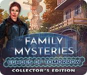 機能スクリーンショットゲーム Family Mysteries: Echoes of Tomorrow Collector's Edition