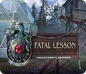 機能スクリーンショットゲーム Mystery Trackers: Fatal Lesson Collector's Edition