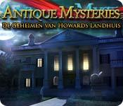 Functie screenshot spel Antique Mysteries: De Geheimen van Howards Landhuis