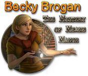 Functie screenshot spel Becky Brogan: The Mystery of Meane Manor