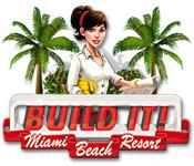 Functie screenshot spel Build It! Miami Beach Resort