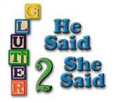 Voorbeeld afbeelding Clutter II: He Said, She Said game