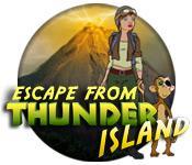 Functie screenshot spel Escape from Thunder Island