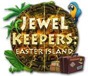 Functie screenshot spel Jewel Keepers: Easter Island