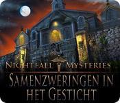 Functie screenshot spel Nightfall Mysteries: Samenzweringen in het Gesticht