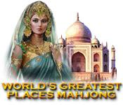 Functie screenshot spel World's Greatest Places Mahjong