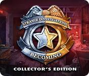 Har skärmdump spel Strange Investigations: Becoming Collector's Edition